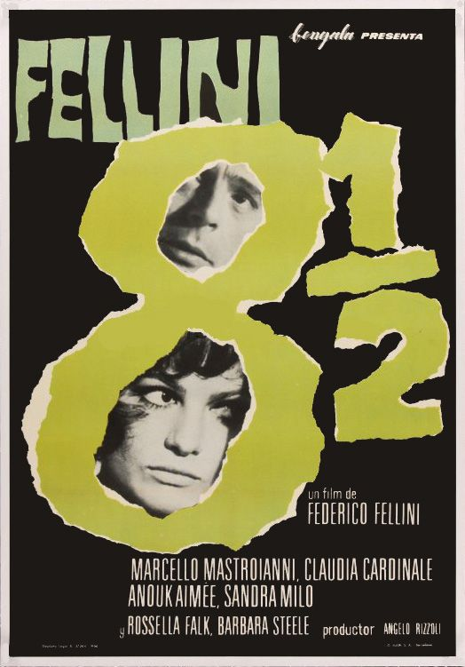 8 1 2 Fellini Buscar Con Google Classic Films Posters Film Poster Design Poster