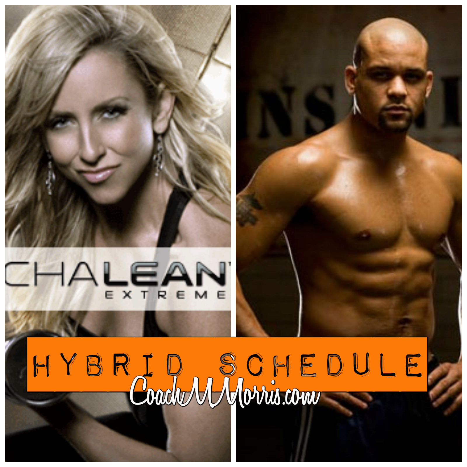 Insanity Chalean Extreme Hybrid Schedule Free Printable