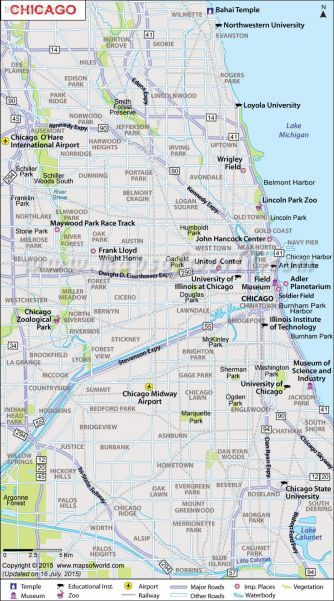 awesome Chicago Map Travelquaz Pinterest Chicago Lincoln park