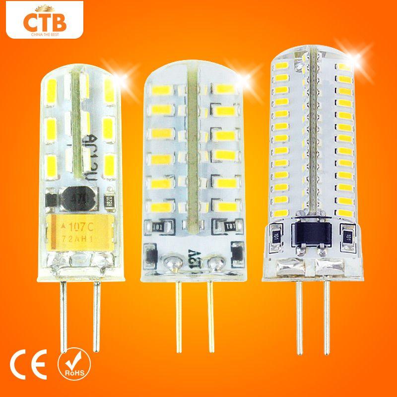 Led G4 Lampe Dc Ac 220 V 12 V 3 Watt 4 Watt 5 Watt 6 Watt 7 Watt 9 Watt 10 Watt Led Lampe G4 Smd 3014 Ersetzen 10 Watt 30 Watt Hal Lights Lighting Lamp
