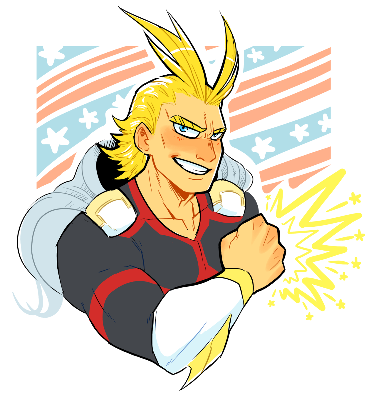 how strong was all might in his prime