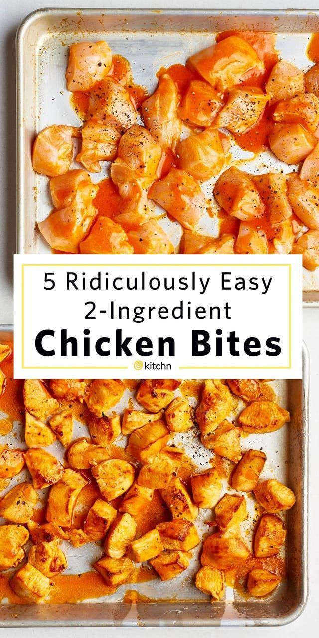 5 Ridiculously Easy Chicken Bites with Only 2 Ingredients images