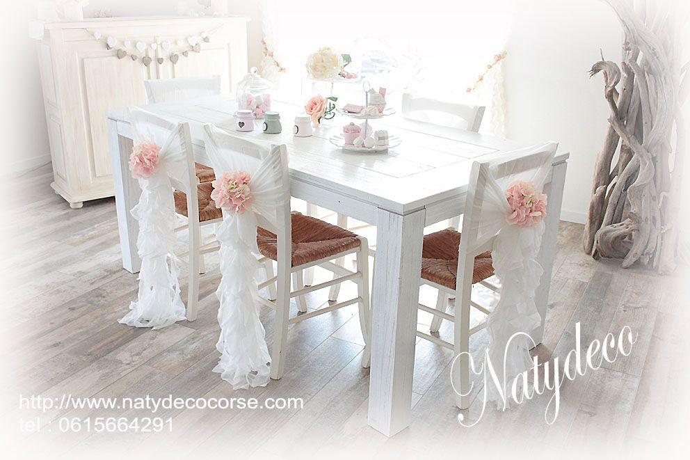 Pingl par natydeco sur d coration shabby chic en 2019 decoration bois flott d coration - Chaise bois flotte ...