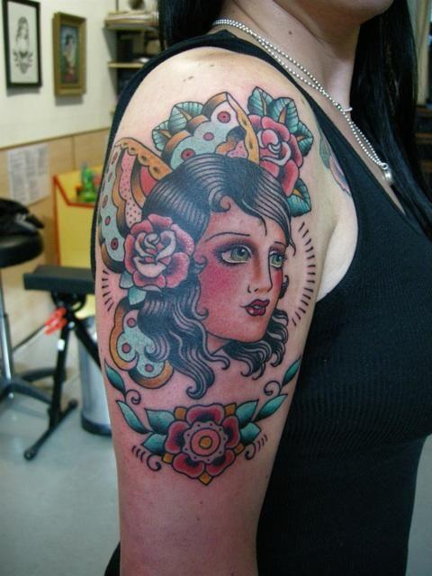 By Lina Stiggson At Admiraal Tattoo Amsterdam Body Art