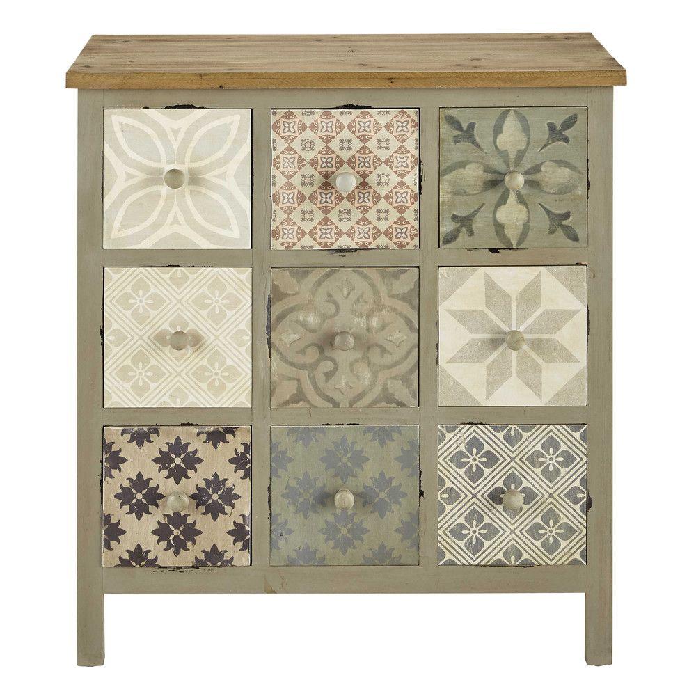 Mueble cajonera gris claro   Me gusta!!   Pinterest   Furniture
