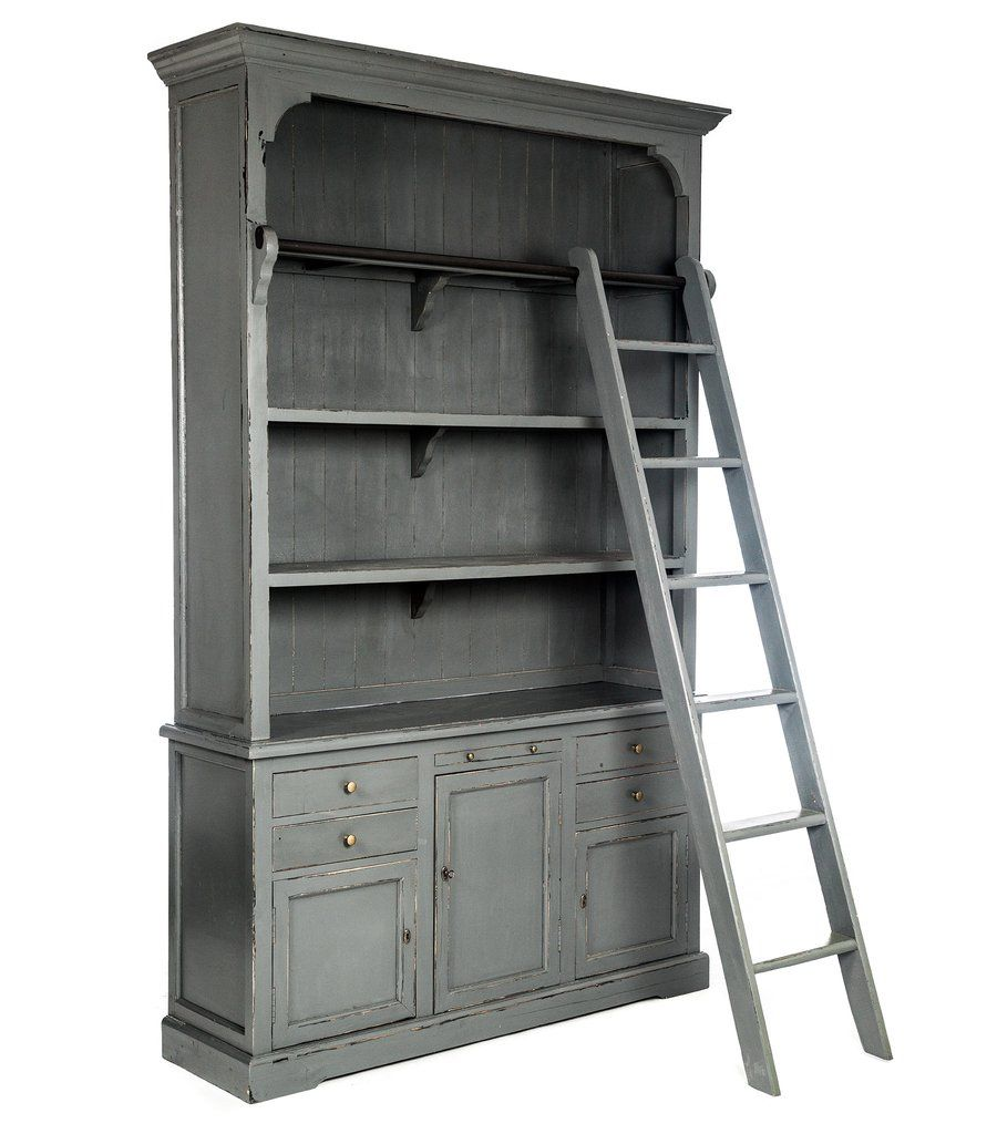 - 59.8L x 16.1D x 92.5H in. - Available in 2 colors, White & Gray - This item is available in-store only - The finishes/fabrics and products shown on this website are being represented as accurately a