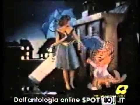 Spot pubblicitario del profumo Gocce di Napoleon, degli anni '80.