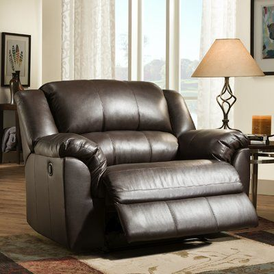 Find Recliners At Wayfair Enjoy Free Shipping Amp Browse Our Great Selection Of Chairs Amp Recliners A Oversized Recliner Recliner Brown Leather Recliner