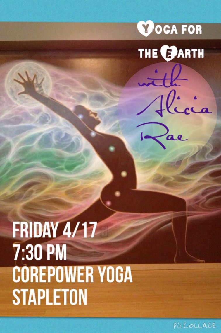 Yoga donation class Friday 4/17 at 7:30 pm at CorePower Yoga Stapleton to support Western Resource Advocates!