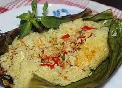 Resep Cara Membuat Nasi Bakar Ikan Teri Sedap Resep Resep Nasi Resep Masakan