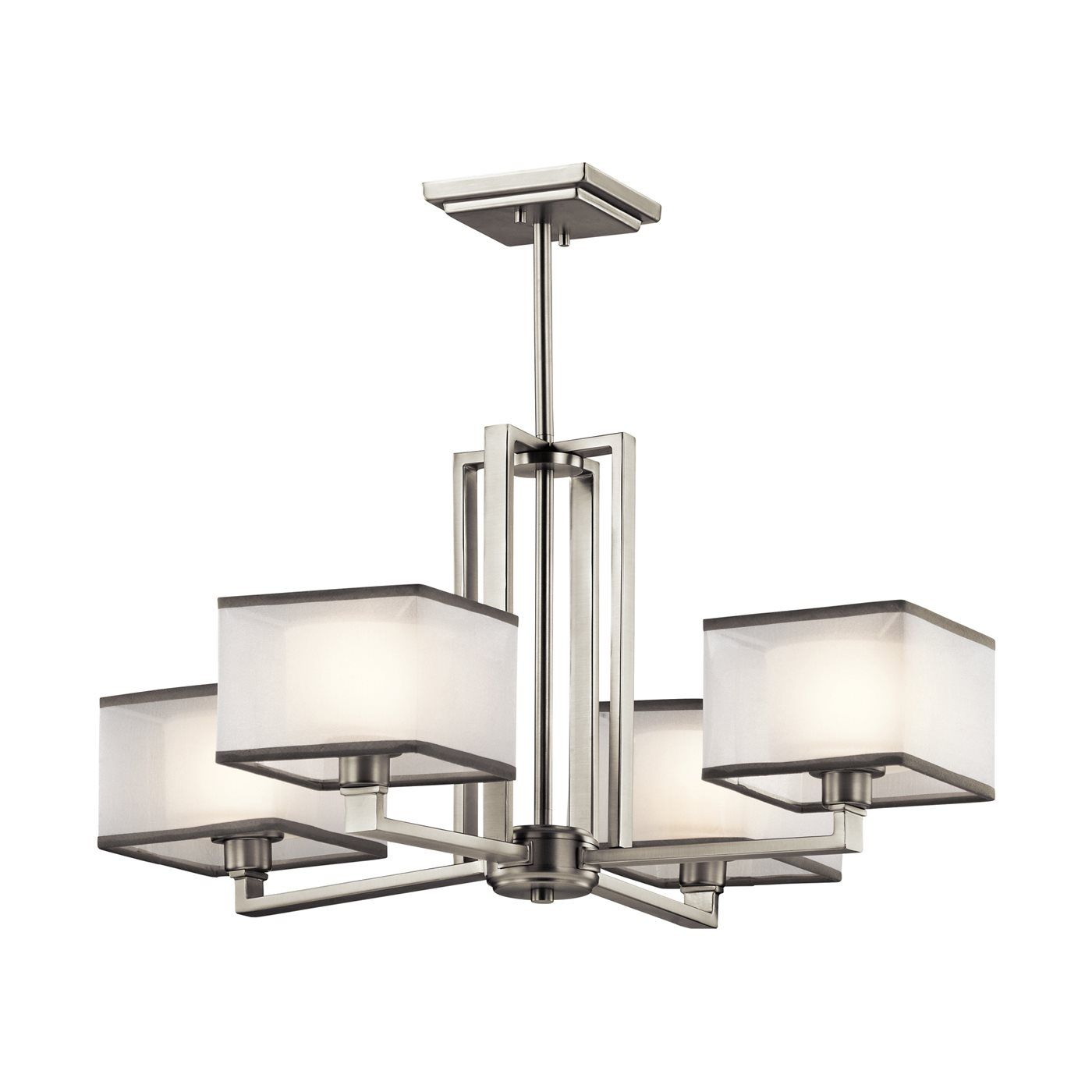 Kichler Lighting 43438NI Kailey 4 Light Chandelier At ATG Stores