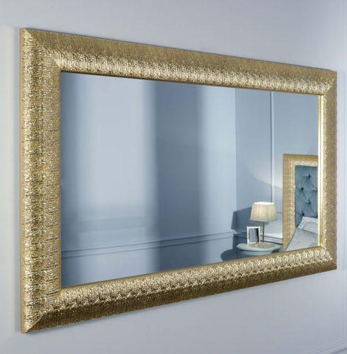 Magnifique miroir dor rectangulaire d coration fran aise in 2019 miroir rectangulaire for Miroir dore rectangulaire