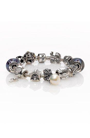 PANDORA Sterling Silver Charm Bracelet | Nordstrom