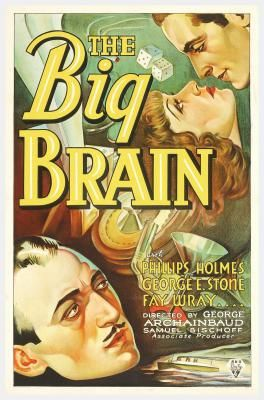 The Big Brain Classic Movie Posters Movie Posters Vintage Brain Poster