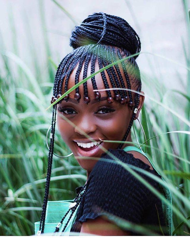 Idées de coiffures inspirées des tresses peulhs d'Alicia