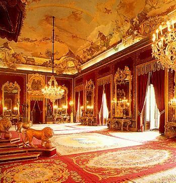 madrid royal palace visited in 2012 - Royal Palace Interior Design