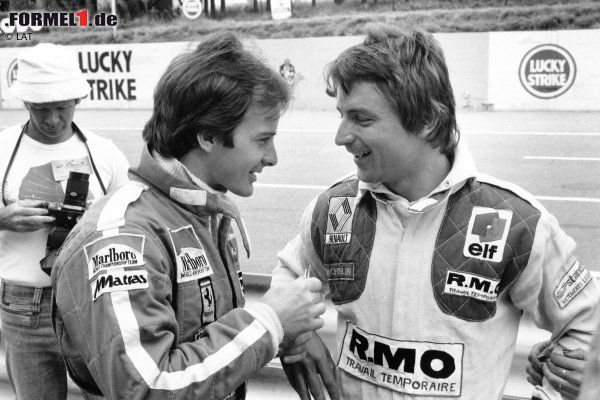 Gilles and Rene Arnoux.
