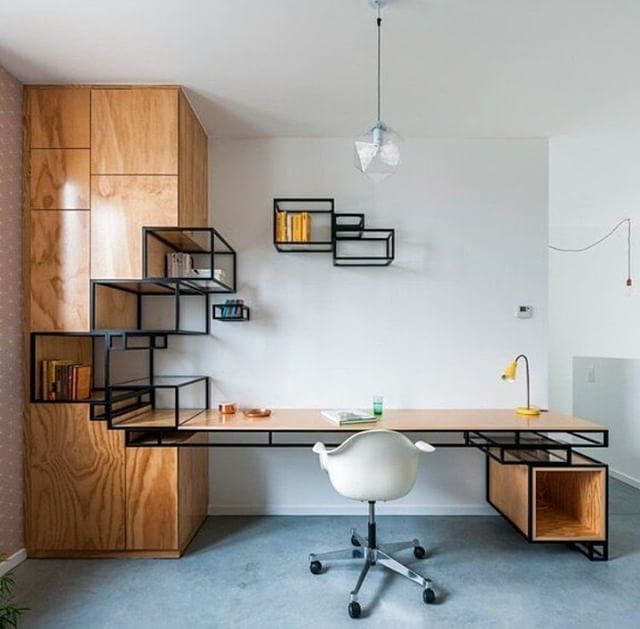Storage Shelving Office Desk Designed by Filip Janssens