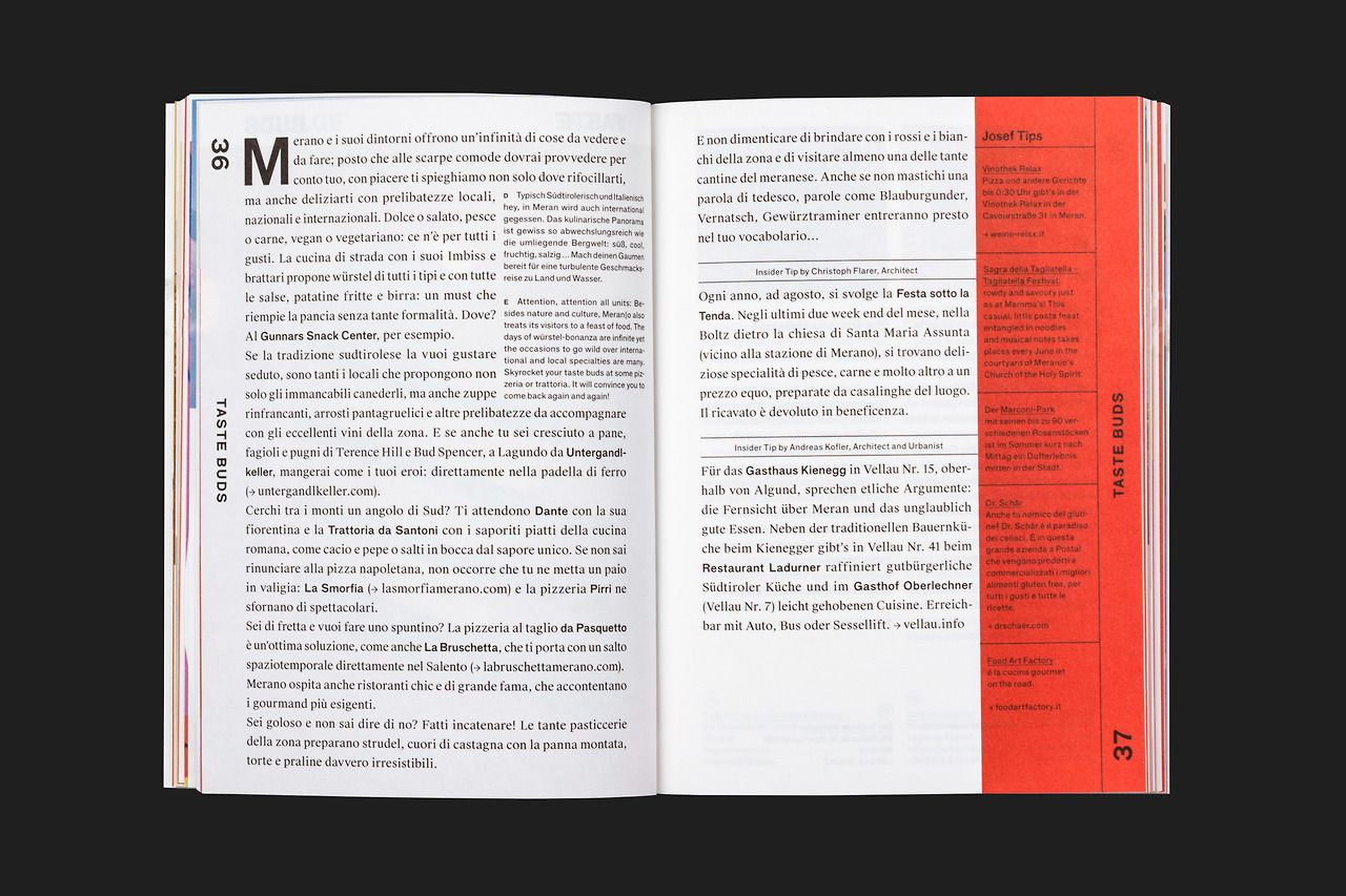 thomaskronbichler: Josef Travel Book — Merano Design: Studio Mut ...
