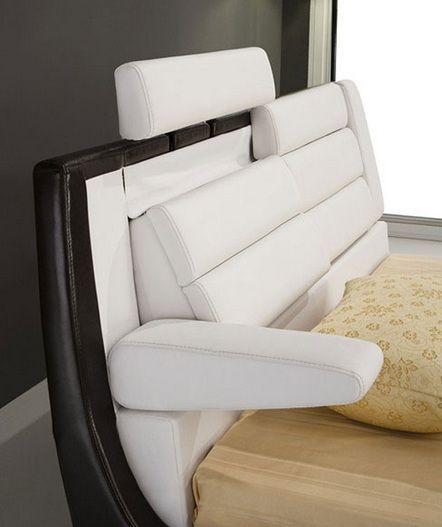 Soft Comfortable Platform Beds   Elegant Leather Modern Platform Bed Ontario  California [ESFROMA .