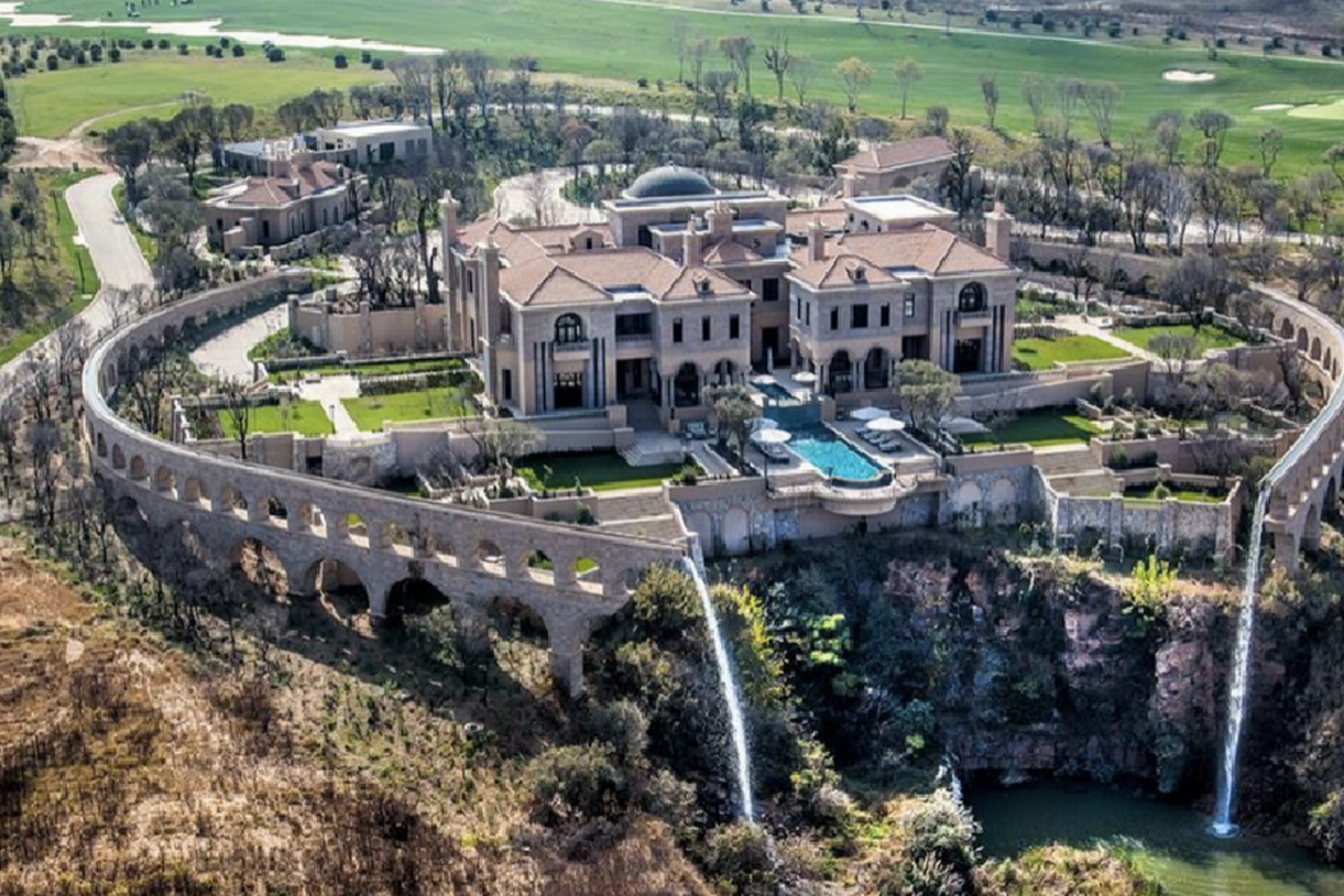 palazzo steyn south africas most expensive lavish mega mansion - Biggest House In The World 2014