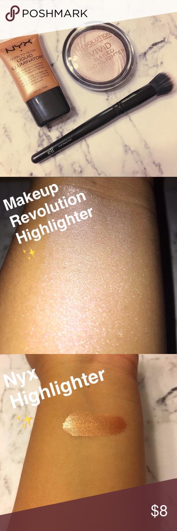 HIGHLIGHTER SET Pretty glowy highlighters Makeup Luminizer