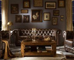 anglaise condo decorating salon style french decor chesterfield decoration cosy