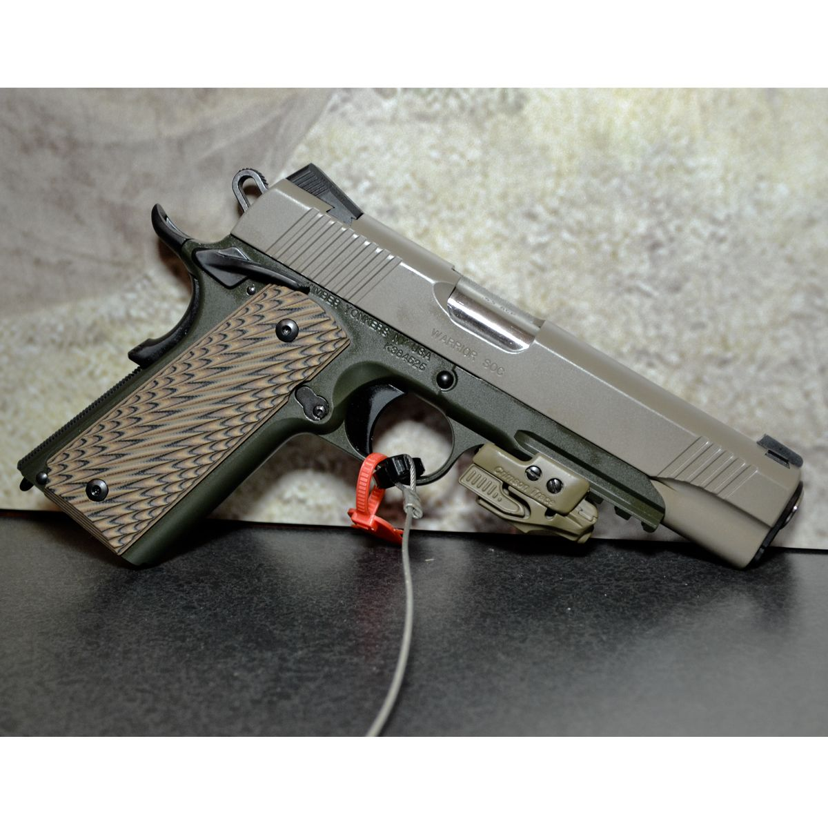 Kimber Warrior SOC  45ACP Pistol w/ Laser - 7rd - available for pre