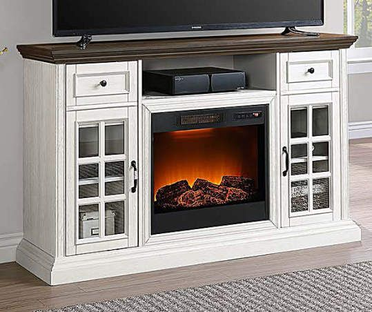 17+ Farmhouse tv stand fireplace best