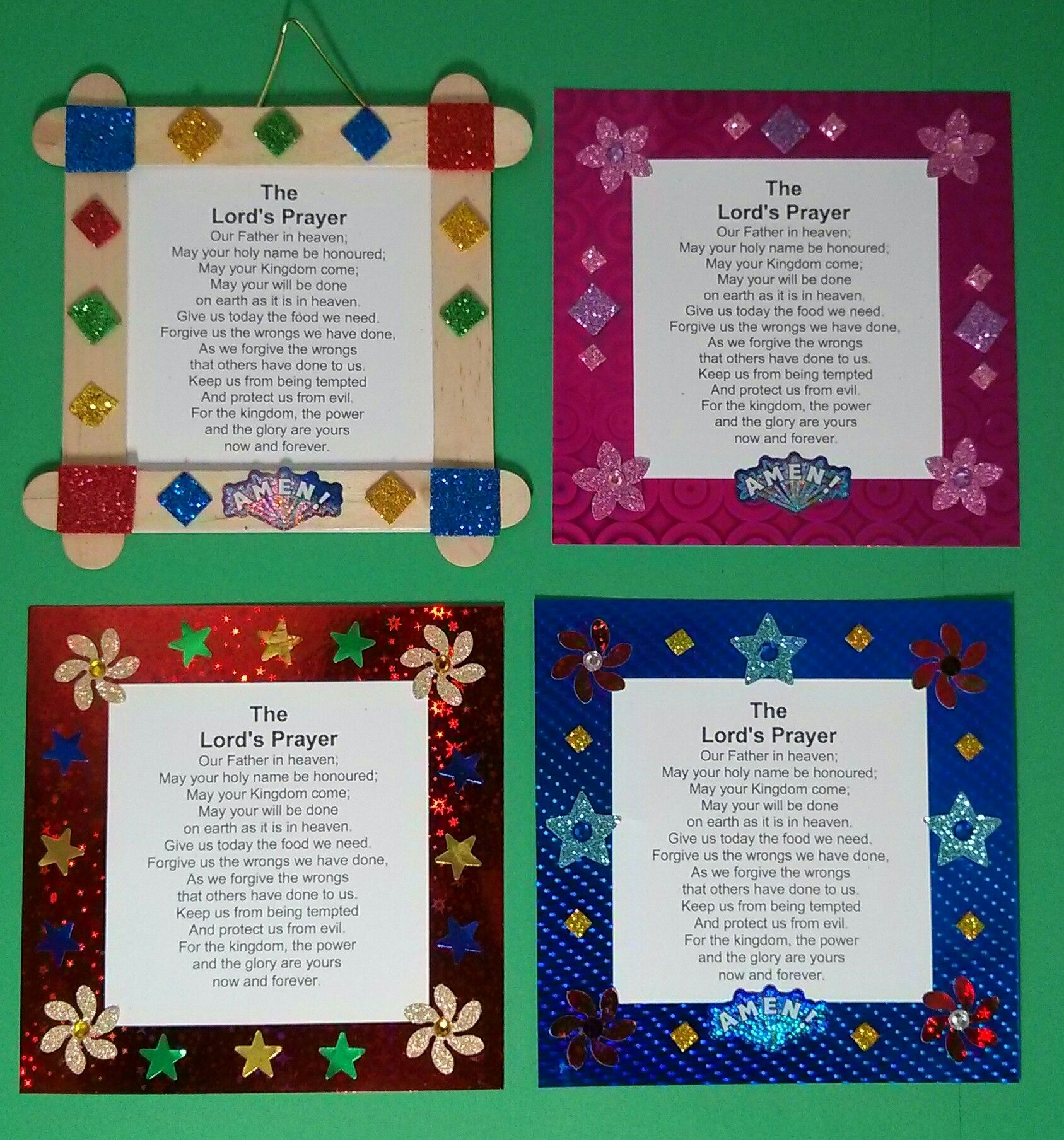 Lord S Prayer Craft