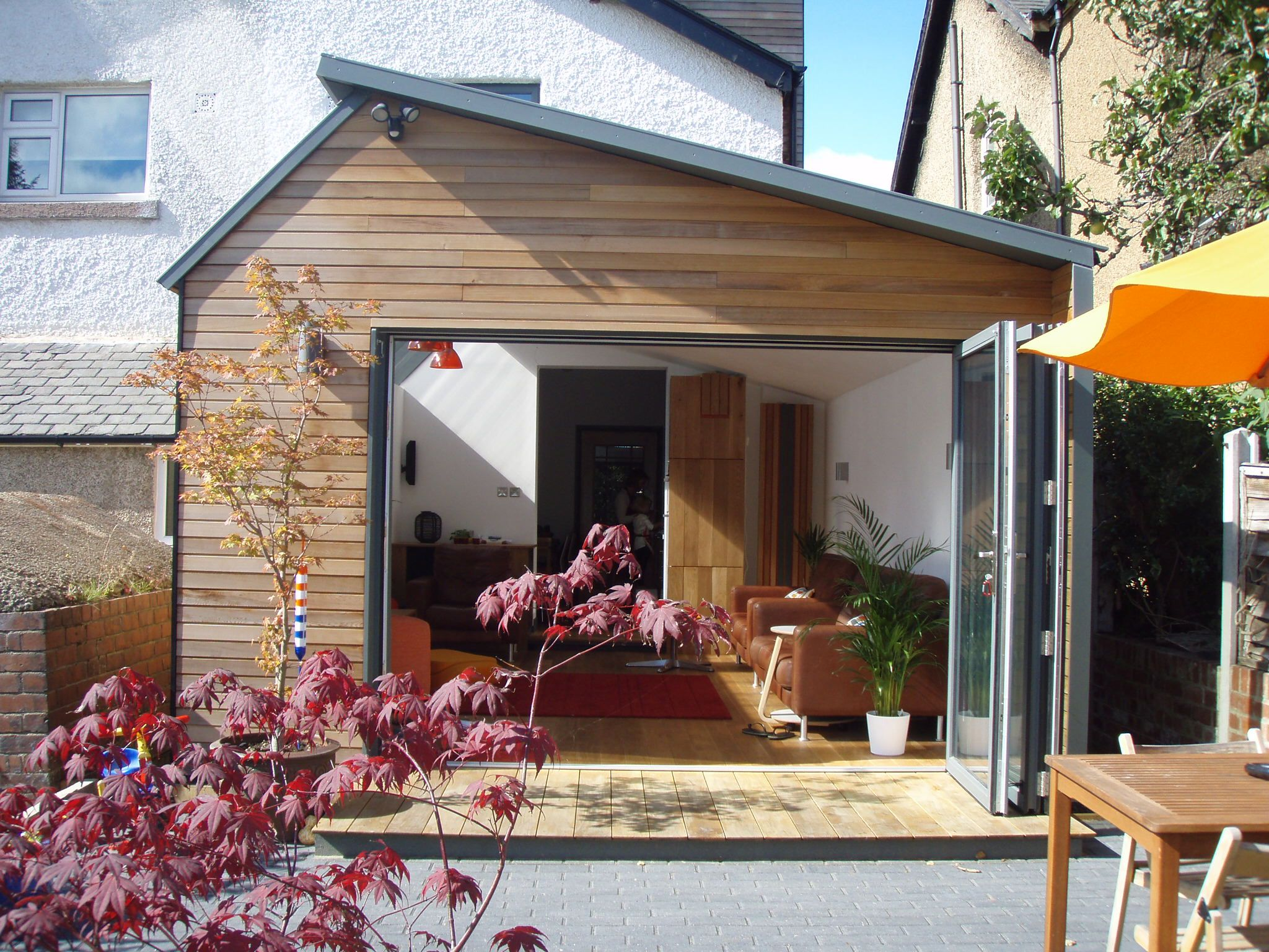 Timber Frame Garden Room Extension