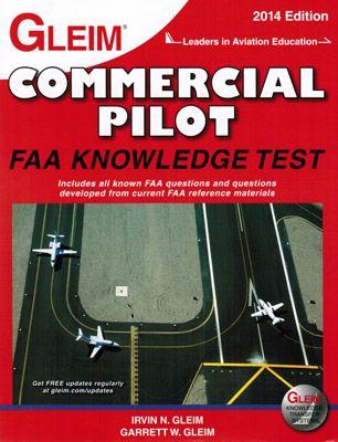 Gleim Commercial Pilot Written Exam Guide | Great Books