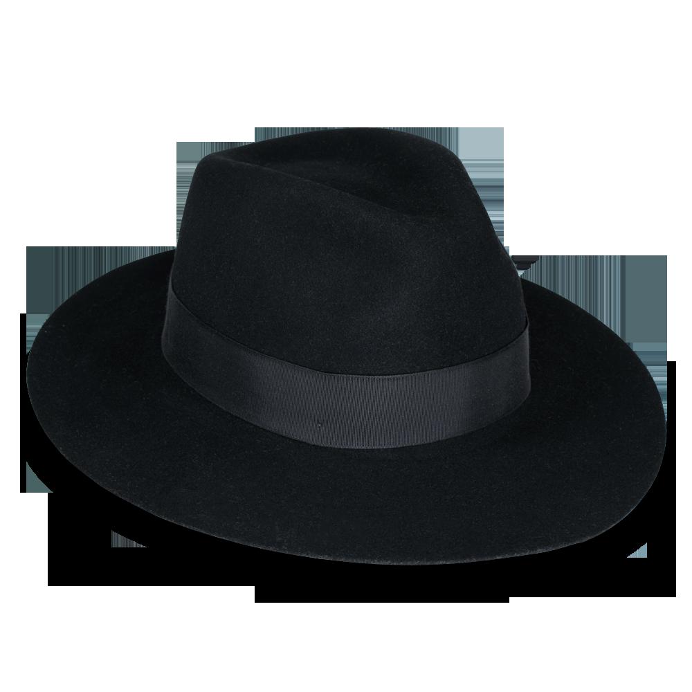 Goorin County Line Brim Fedora Hat W Sweatband In Black Blue Size Xl Goorin Fedora Hat Wide Brim Fedora