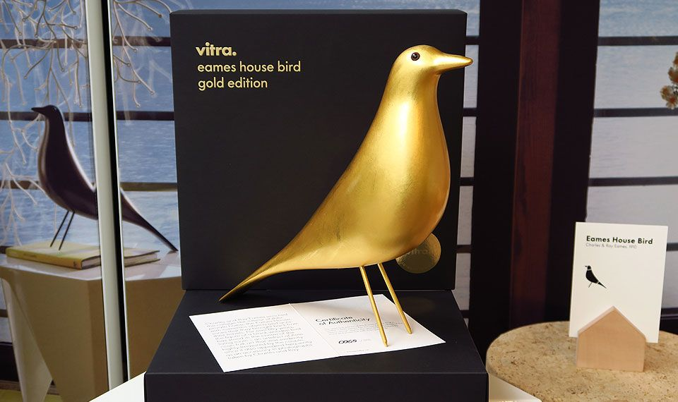 Eames House Bird Gold Designklassiker Eames Design