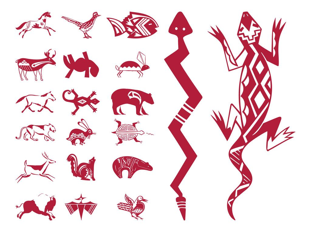 Native American Bear Patterns Native American Designs Native