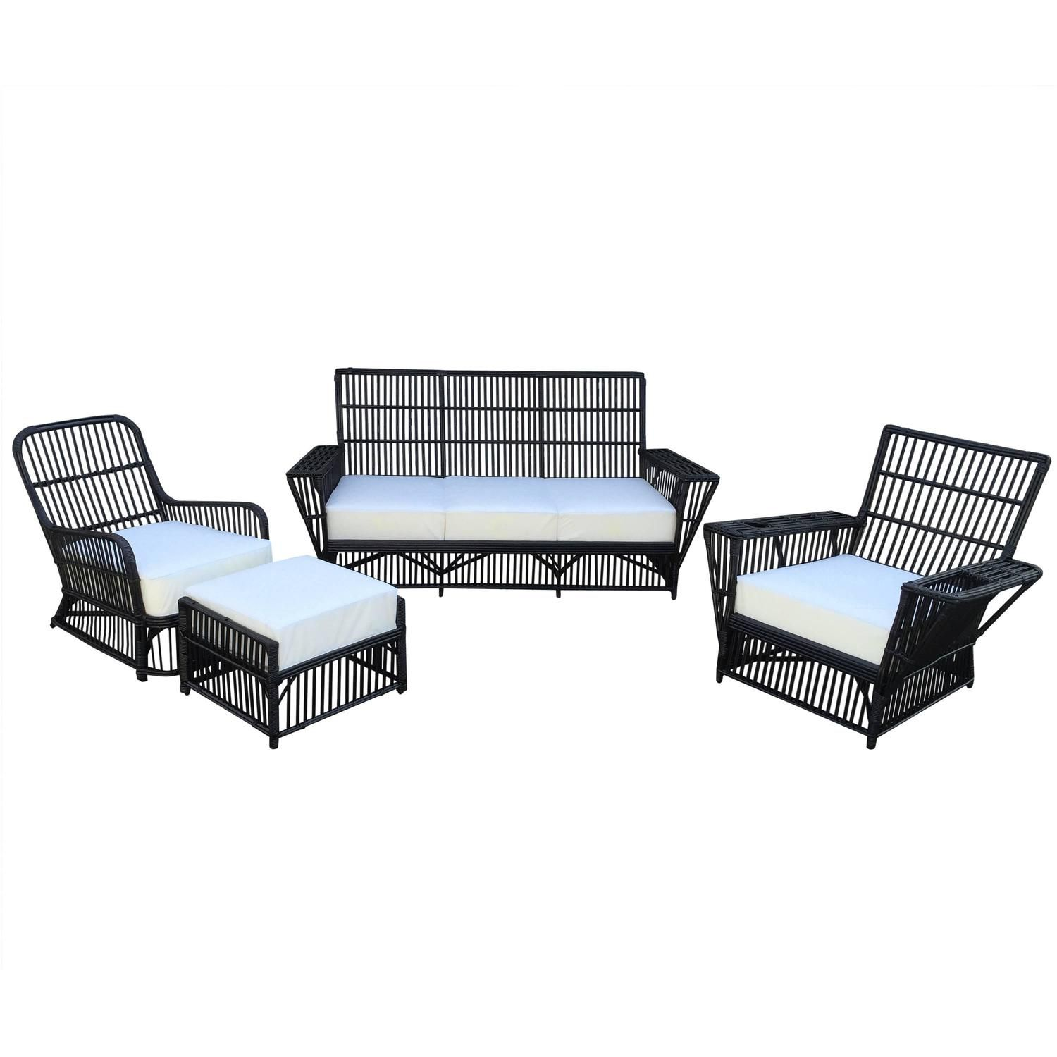 antique stick wicker set garden furniture patios and rustic furniture