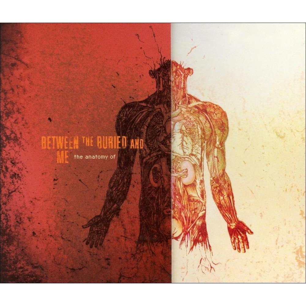Between The Buried And Me The Anatomy Of Cd Products
