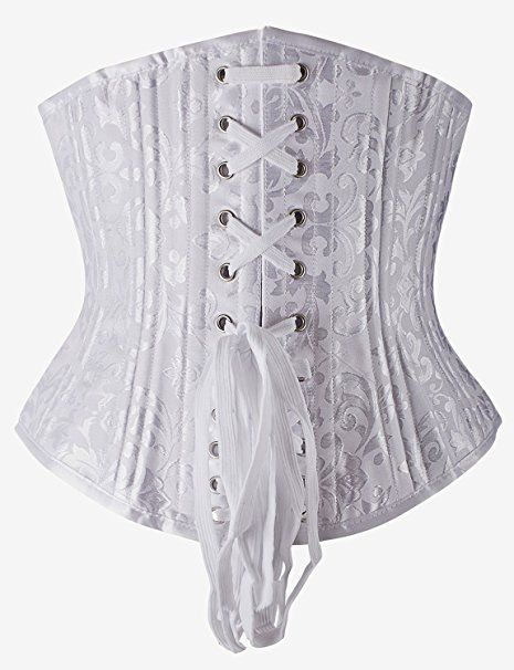 1266fd6973 Camellias Women s 26 Steel Boned Heavy Duty Waist Trainer Corset Shaper for  Weight Loss at Amazon Women s Clothing store