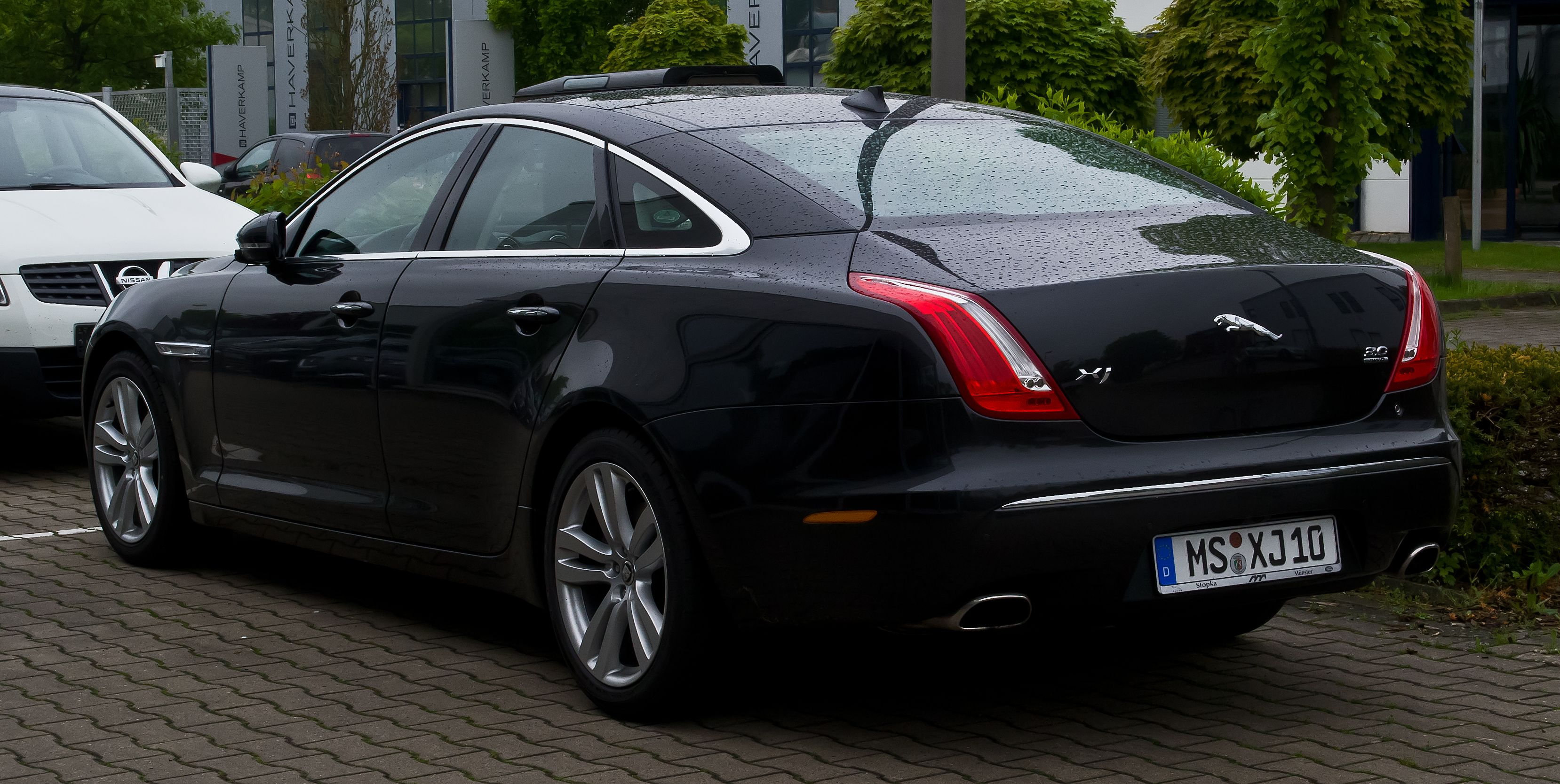 Jaguar first introduced the supercharged XJR in X300 production; the ...