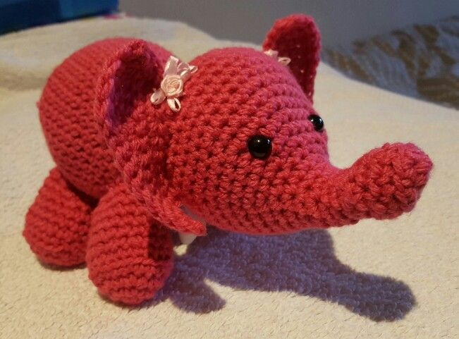 Ellie Elephant not my pattern