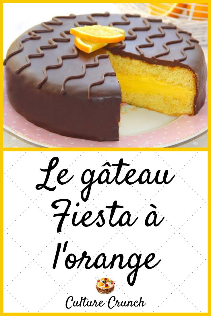 Gateau Fiesta A L Orange La Recette Facile En 2020 Gateau Aux Agrumes Gateaux Et Desserts Recette Dessert