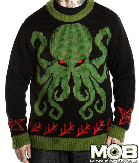 Satanic Christmas Sweater.Pin On Ashley