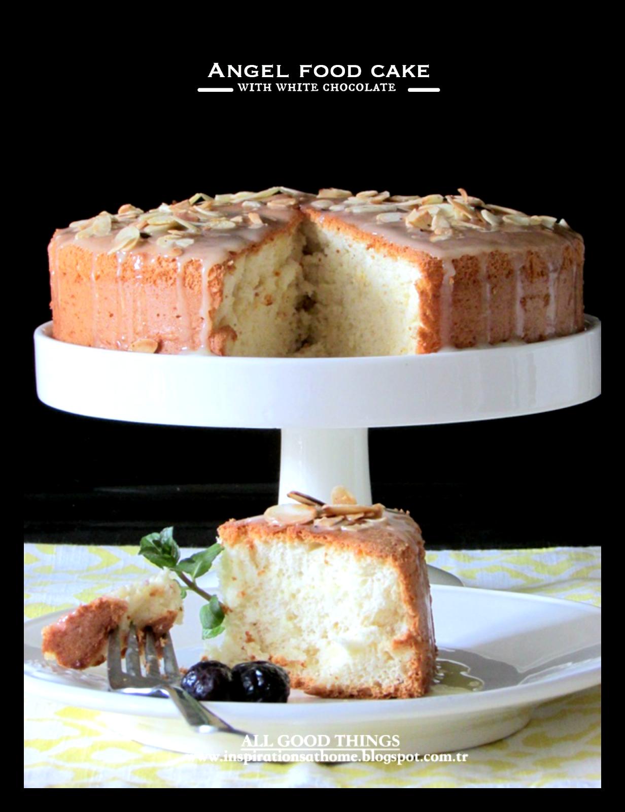 angel food cake görüntüler ile  gıda food cakes