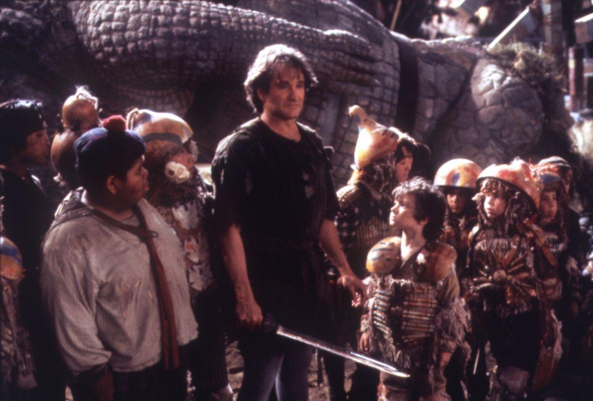 Robin Williams Photo: Hook | Robin williams, Hook robin ...