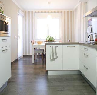 Reforma de cocina distribuci n alargada decoraci n - Distribucion casa alargada ...