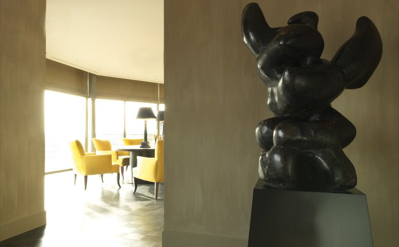 Antwerpen Penthouse Dining Room by Decoration Empire