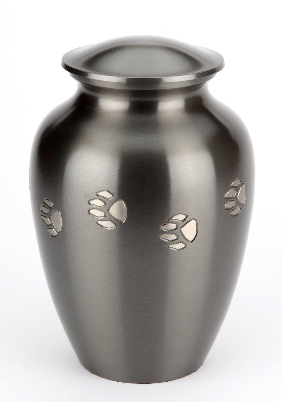Cat Pewter Pet Cremation Urn