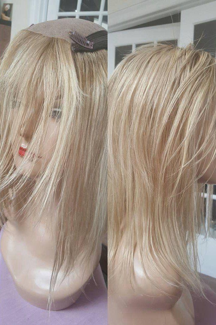 Pale Skin Honey Warm Medium Golden Blonde Highlights Hair Toppers