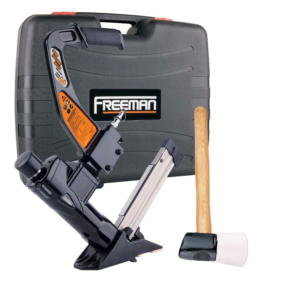 Freeman Pfl618br 3 In 1 Pneumatic Flooring Nailer Want Additional Info Click On The Image Cordless Power Tools Cordless Drill Reviews Power Tool Storage