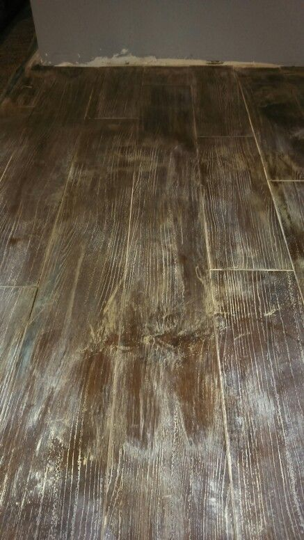 Chalk Painted Laminate Flooring Painting Laminate Floors